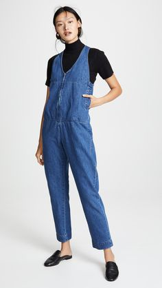 6482501c Rachel Comey - Buxton Jumpsuit Denim Blog, Ankle Length, Denim Fashion,  Core Wardrobe