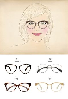 a7e127965b The Best Glasses for All Face Shapes