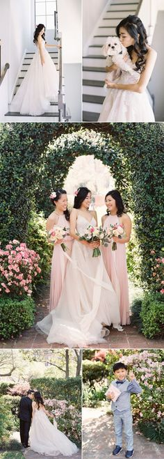 A Pink Garden Wedding Straight From the Storybooks