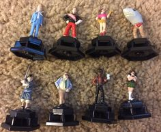 Trivial Pursuit DVD SNL Saturday Night Live Replacement Tokens Pieces Figurines #ParkerBrothers