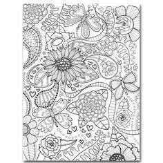 Designarkmed doodling motiv