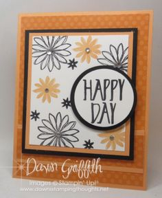 Happy Day Card Spinner inside video | Dawn's Stamping Thoughts | Bloglovin'