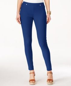 MICHAEL Michael Kors Coral Reef Solid Pull-On Leggings $51.99 Add a splash of color to your daytime look with these MICHAEL Michael Kors' leggings that create a sleek silhouette in a versatile, bright coral for style that pops.