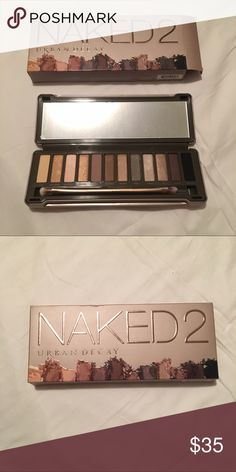 Urban Decay Naked2 Pallet Brand New! Had an extra one as a present and knew I wasn't going to use it so I'm selling it here so somebody else can enjoy it. Urban Decay Makeup Eyeshadow