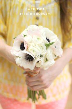DIY Spring Wedding Bouquet