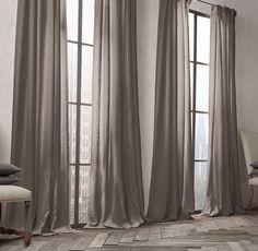Belgian Opaque Linen Drapery