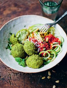 Popeye Polpette recipe from Green Kitchen At Home by David Frenkiel | Cooked