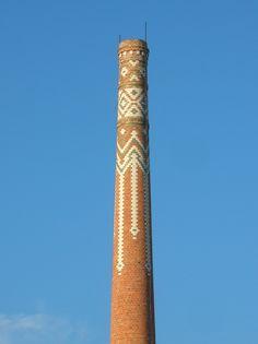 chimney Pécs in Hungary
