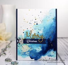 Penny Ward INK: Watercolor Blues  #SSSfave