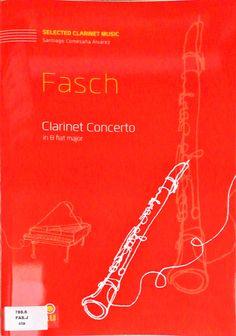 Fasch. Clarinete Concerto in B flat major. Versión para clarinete de Santiago Comesaña