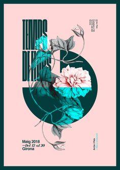 New Poster Collection Spring! Design by Xavier Esclusa Trias® 😁 Graphic Design Posters, Graphic Design Typography, Graphic Design Inspiration, Graphic Art, Vintage Graphic, Game Design, Layout Design, Magazin Design, Collage Design
