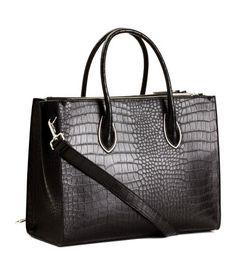 Handbag   Black/patterned   Ladies   H&M US