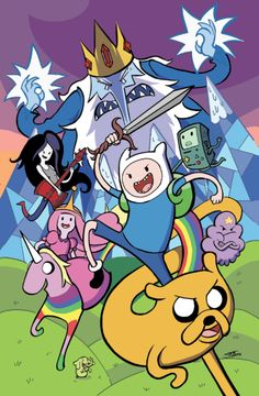 #7 Before I die, I want to spend an entire day watching Adventure Time with the one I love. c: