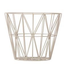 ferm LIVING - Iron Wire Basket $101.99. For wrapping paper storage... but not at that price!