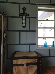 Kids Bedroom Minecraft mine craft bedroom! yes! | kids | pinterest | sons, craft rooms