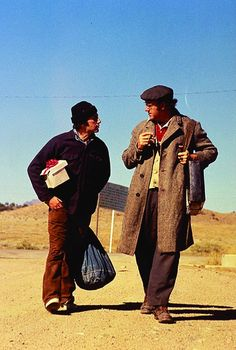 Al Pacino and Gene Hackman in Scarecrow (1973)