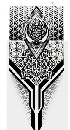 Full Leg Tattoos, Forearm Band Tattoos, Hand Tattoos For Guys, Cover Up Tattoos, Geometric Tattoo Pattern, Geometric Mandala Tattoo, Mandala Sleeve, Evil Tattoos, Warrior Tattoos