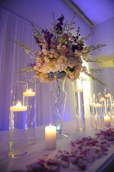 Floral Centerpieces Wedding Favors Photos on WeddingWire