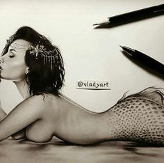 Demi Lovato breaks the heart of artist who made a mermaid drawing ...