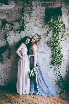 Rustic And Romantic Fairytale Bridal Inspiration Shoot With Gowns From Faith Caton-Barber And Accessories From Rosie Weisencrantz