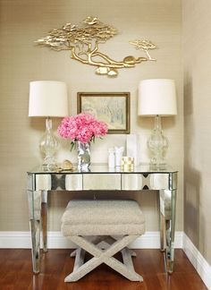 vignette by interior designer Jeff Andrews