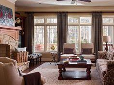 Transitional | Living Rooms | Nile Johnson : Designer Portfolio : HGTV - Home & Garden Television