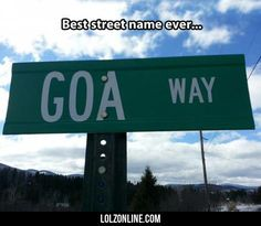Best Street Name Ever