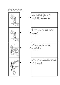 Caaco dos 1314_mt117_r1_comprensio_lectora_1_provisional Catalan Language, Maila, Book Worms, Acting, Math Equations, Education, How To Become, School, Special Education