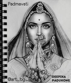 Deepika padukeon my love Drawing Stars, Pop Art Drawing, Girl Drawing Sketches, Art Drawings Sketches Simple, Sketch Art, Abstract Pencil Drawings, Pencil Drawings Of Girls, Girly Drawings, Pencil Sketching