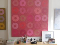 sara genn   heartstop   60 x 60 inches   oil on canvas  2012