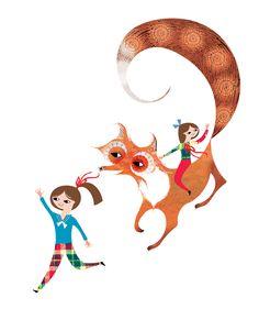 A Foxy Adventure - Lesley Barnes Illustration
