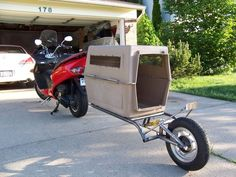Pull Behind Motorcycle Trailer 32                                                                                                                                                     More