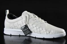 Vans - Vans M Tesella Sneaker 3D Aloha White Leather VVOAGNH - Fahrenheitstore
