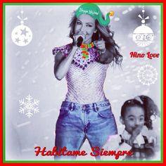 Thalía #Teleton #ChristmasTime