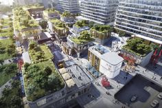 Landscape Architecture Design, Green Architecture, Shopping Street, Street Mall, Shopping Mall, Urban Village, Mixed Use, Central Business District, Sense Of Place