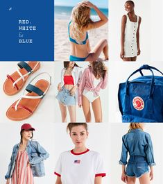 Shop Red, White + Blue