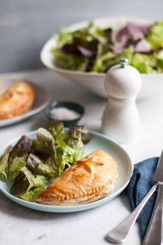 Ham & Vegetable Pastry Puffs. Recipe adapted from My Little French Kitchen by Rachel Khoo