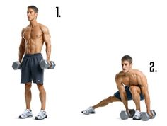 Change directions and go HORIZONTAL. Side lunges are a fantastic move to hit the BUTT in a completely different way.