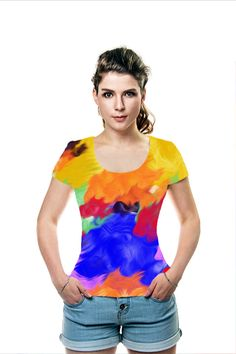 By Dagmar Marina. All Over Printed Art Fashion T-Shirt by OArtTee