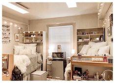 College Dorm Bathroom, College Bedroom Decor, Cool Dorm Rooms, College Room, Dorm Bathroom Decor, College Agenda, College Notebook, College Board, College Life