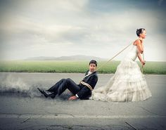 Lustige Hochzeitsbilder: Best Of