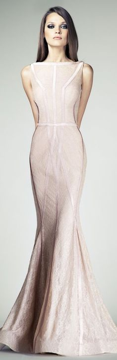 The blush'iest of blush - Tony Ward Couture S/S 2014