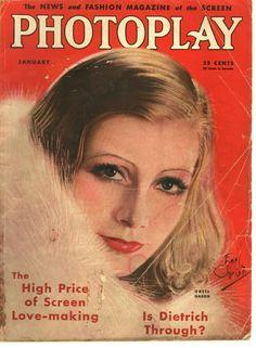 Greta Garbo on Photoplay