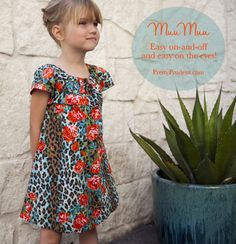 Easy Girls MuuMuu Dress Tutorial   Go To Sew