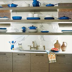 2012 Ultimate Beach House Room Tour   Scullery   CoastalLiving.com...need a storage/butlers pantry that is out of sight