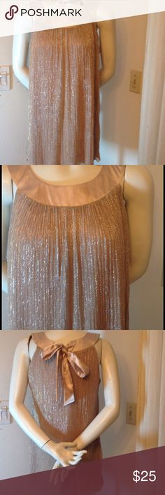 GOLD SLEEVELESS TOP THIS TOP IS LIKE LIQUID GOLD IT GORGEOUS PRE-LOVED WORN ONCE SO IN GREAT SHAPE SZ 12 ENFOCUS STUDIO Tops