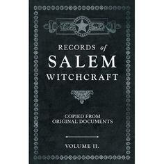 Occult Books, Witchcraft Books, Magick Book, Salem Witch Trials, Witchcraft For Beginners, The Good Witch, Book Journal, Book Of Shadows, Vintage Books
