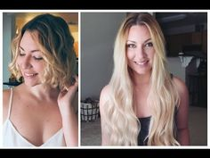 39 new Ideas hair extensions before and after layered colour Curled Hairstyles, Summer Hairstyles, Easy Hairstyles, Hair Extensions Before And After, Hair Extensions For Short Hair, Hair Color Dark, Brown Hair Colors, Natural Hair Styles, Short Hair Styles