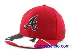 Comprar Baratas Gorras Atlanta Braves Fitted 0079 - Gorrascielo.com