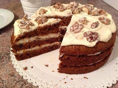 Mrkvový dort s javorovým sirupem - Víkendové pečení Tiramisu, Cheesecake, Food And Drink, Cooking Recipes, Cupcakes, Ethnic Recipes, Pizza, Blog, Fit